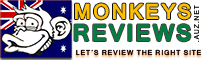 Monkeys Reviews Australia small logo